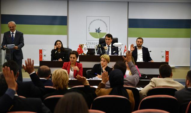 Osmangazi'nin 2020 yılı bütçesi 674 milyon lira