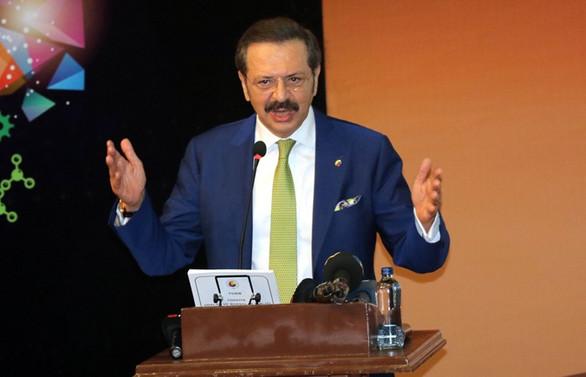 Hisarcıklıoğlu'dan 2019 için yüzde 1 civarında büyüme öngörüsü