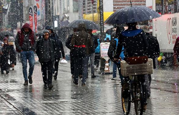 Meteorolojiden yağmur ve kar uyarısında bulundu