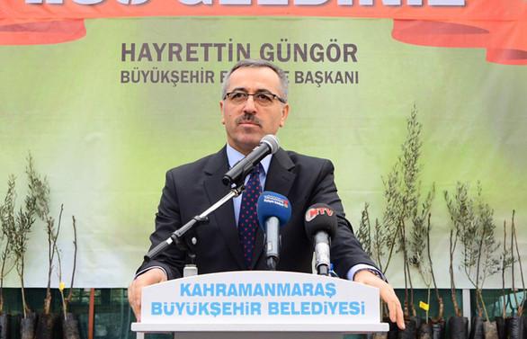 Kahramanmaraş Büyükşehir'den kırsal kalkınmaya destek