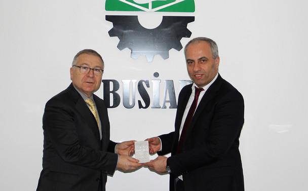 Bursa ile Almanya arasında sanayi işbirliği geliştirilecek