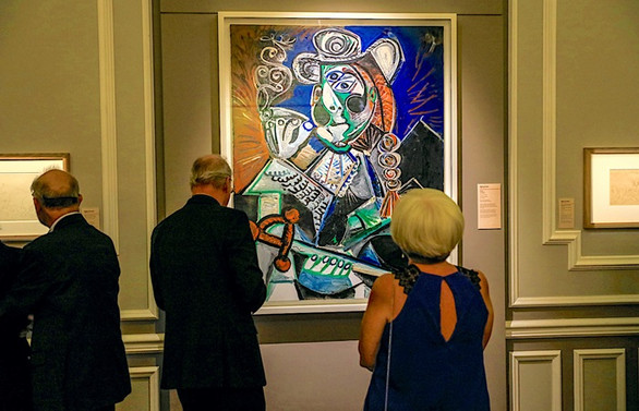 İzmirliler, Picasso'yu çok sevdi