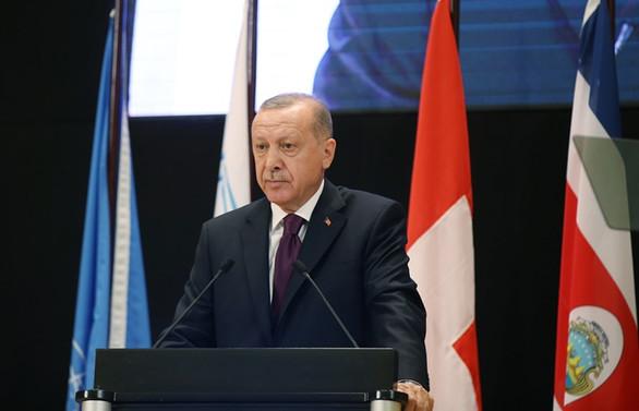 Erdoğan: Mülteci meselesi birkaç ülkenin çabasıyla önlenemez