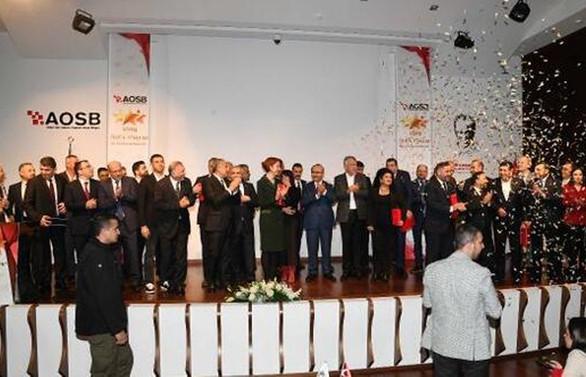 Adana'nın 'yıldız' sanayicileri ödüllendirildi