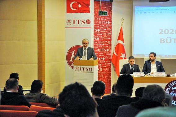 İTSO'nun 2020 tahmini bütçesi 6,5 milyon TL