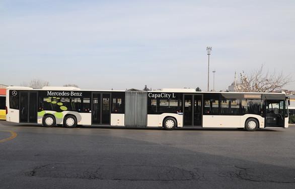 Metrobüs hattında çalışacak yeni aracın testine başlandı