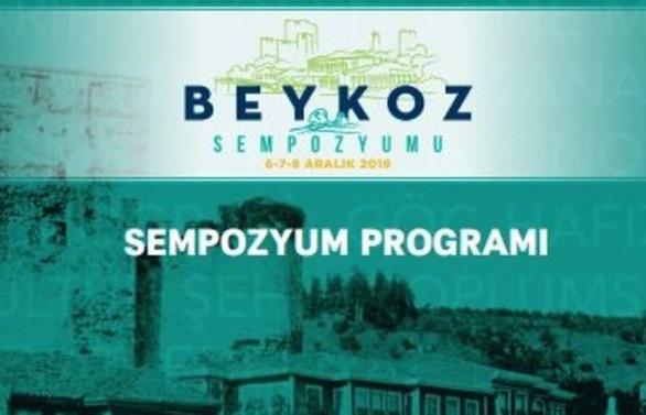 Beykoz Sempozyumu 2019 başlıyor