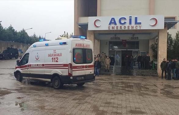Şırnak'ta el yapımı patlayıcı infilak etti: 2 şehit, 7 yaralı