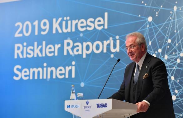 TÜSİAD Başkanı: Dünya ekonomisinde tehlike sinyalleri artıyor