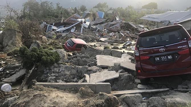 Endonezya'da 5,2 büyüklüğünde deprem