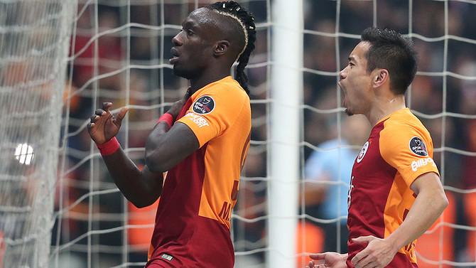 Galatasaray, Trabzonspor'u 3 golle geçti