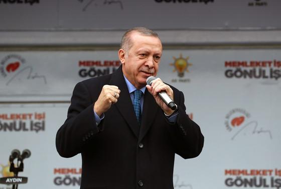 Erdoğan: Sıra temizlik malzemelerinde