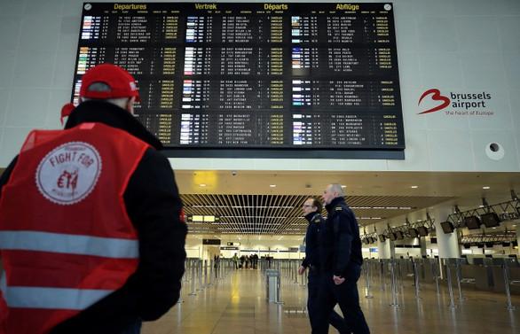 Belçika'da tüm uçuşlar iptal edildi