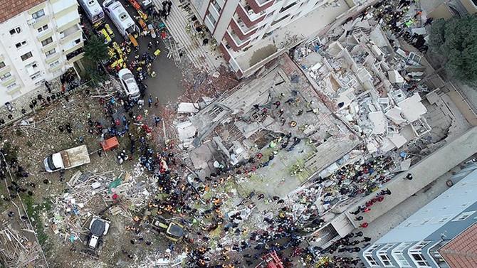 Kartal'da çöken binayla ilgili 2 kişinin tutuklanması istendi