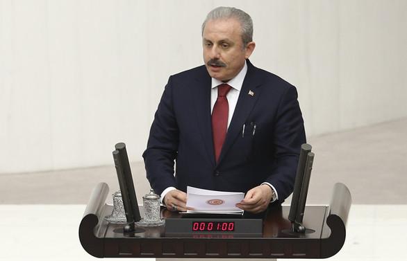 TBMM'nin yeni Başkanı Mustafa Şentop oldu