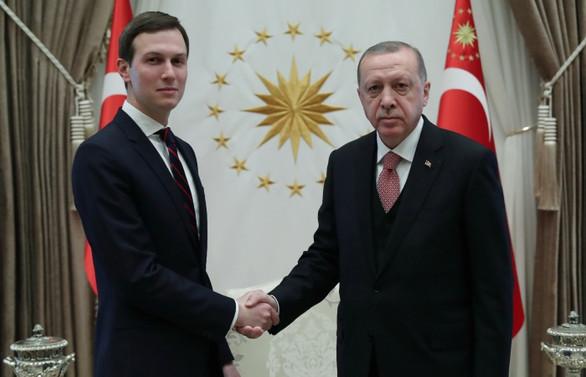 Erdoğan, Trump'ın danışmanı Kushner ile görüştü