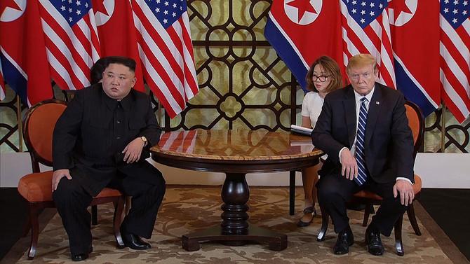 Trump ve Kim anlaşamadı