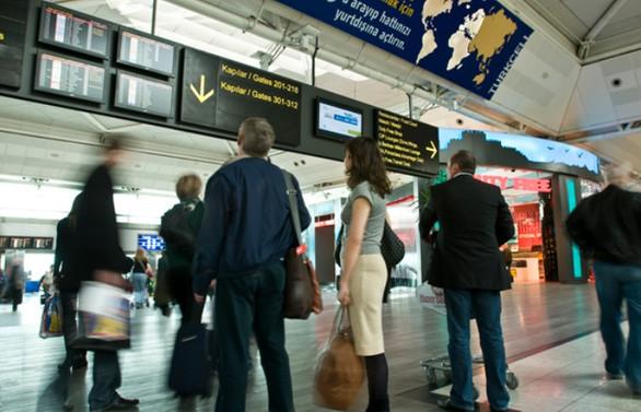 Yabancı turist sayısı ocakta yüzde 5,33 arttı