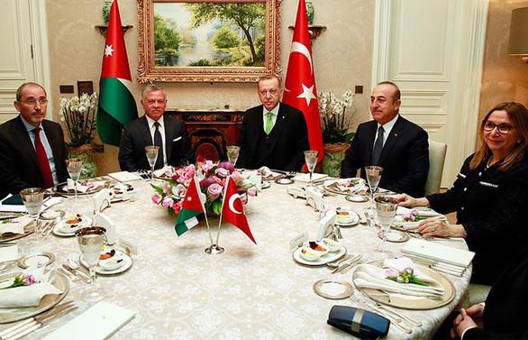 Erdoğan, Ürdün Kralı 2. Abdullah ile bir araya geldi
