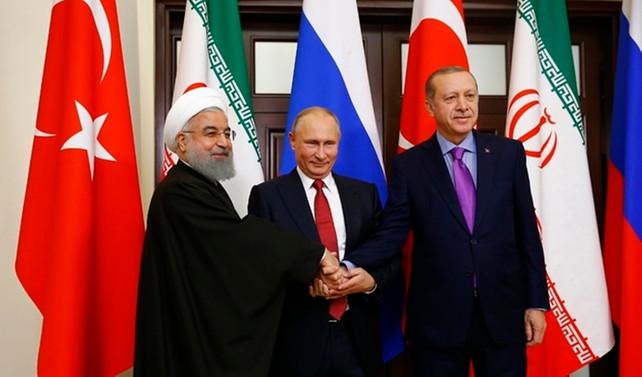 Soçi'de 3'lü Suriye zirvesi
