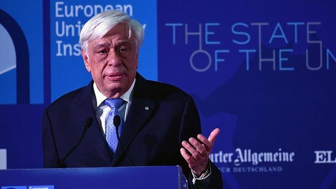 Pavlopoulos: Yunanistan, Türkiye ile barışçıl ilişkiler geliştirmek istiyor