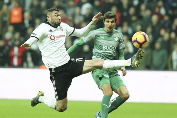 Beşiktaş, Burak Yılmaz'la kazandı