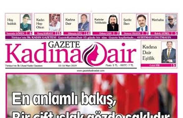 Gazete Kadına Dair yayın hayatına başladı