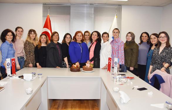 KASİAD'lı iş kadınları 8 Mart'ı kutladı