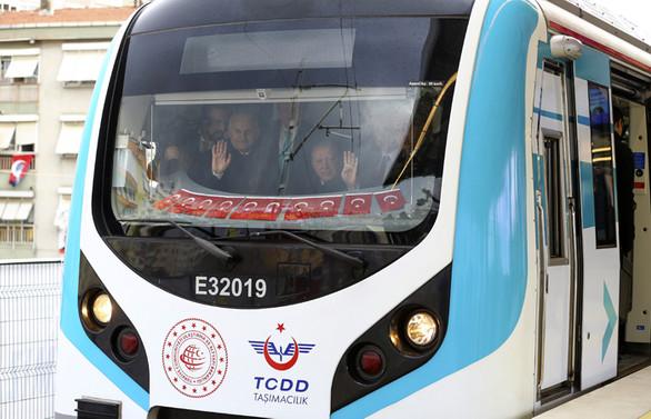 Gebze-Halkalı demir yolu hattı açıldı
