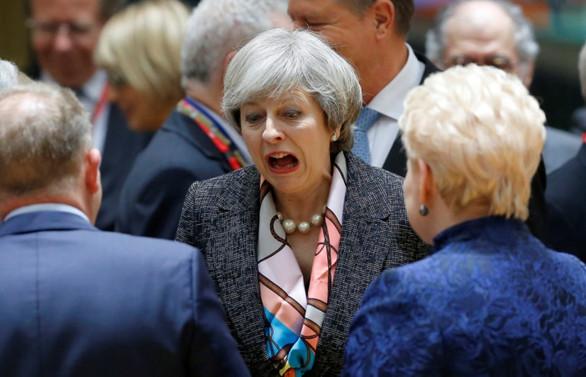 May, partisinden destek alamadı