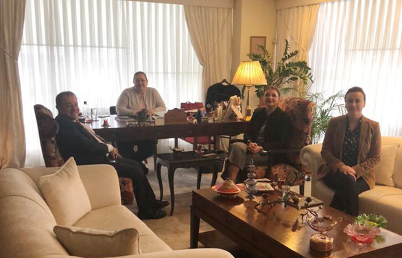 Dr. Hakan Çınar, DÜNYA'yı ziyaret etti