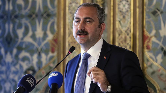 Adalet Bakanı Gül'den AP Raporu'na tepki