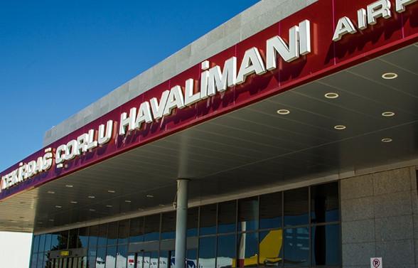 Çorlu Havalimanı'nın ismi değişiyor
