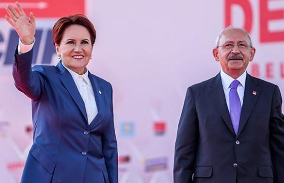 Kılıçdaroğlu ve Akşener ortak mitingde konuştu