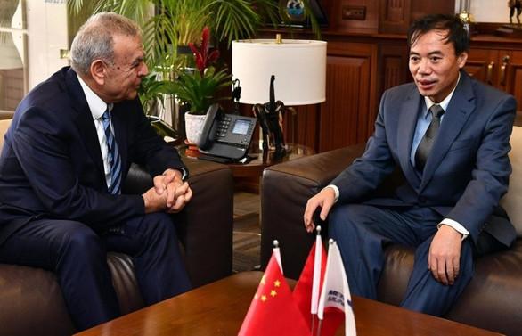 Çin Başkonsolosu, İzmir'e veda etti