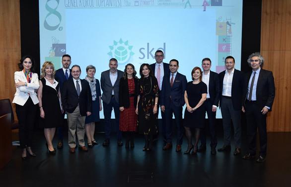 Ebru Dildar Edin, SKD Türkiye Başkanlığını sürdürecek