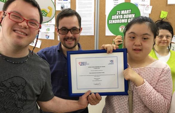 DSI'den Down Sendromu Derneği'ne ödül