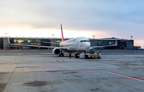 İstanbul Havalimanı'ndan 2 bin 902 uçuş yapıldı