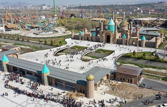 Anka Park'ı 980 bin kişi ziyaret etti