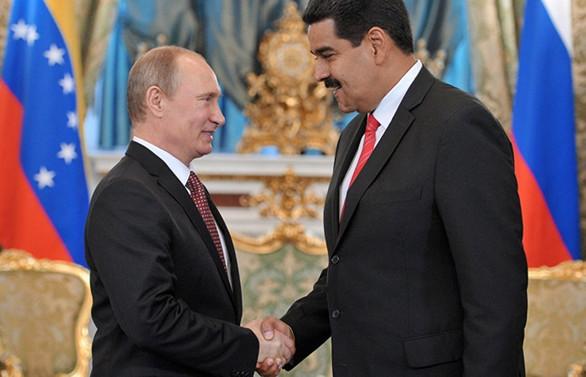 Rus askerleri anlaşma gereği Venezuela'da