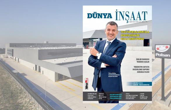 Polisan Holding  YKB Bitlis, yeni projeleri DÜNYA İnşaat'a anlattı