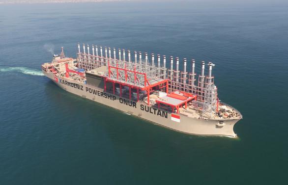 Karpowership ve MOL, LNG ile elektrik üretecek