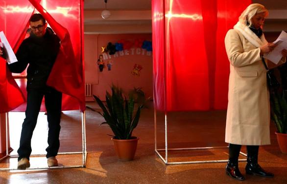 Ukrayna için de seçim günü