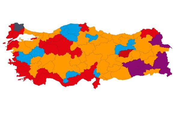 31 Mart Türkiye geneli seçim sonuçları