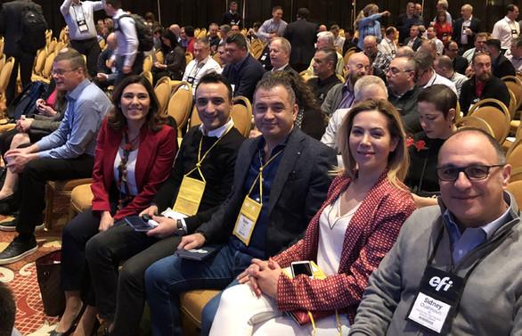 Lidya Grup, Las Vegas'da 20. EFI Connect 2019 Zirvesi'ne katıldı