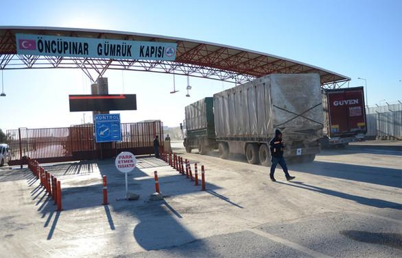 Öncüpınar Gümrük Kapısı, 8 yıl sonra yeniden açıldı