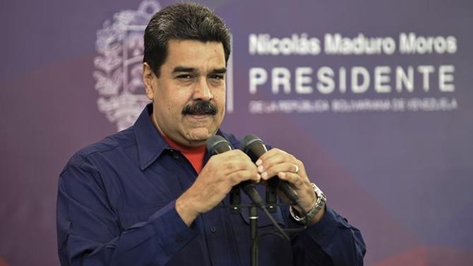 Maduro ile iş yapan yabancı bankalara yaptırım
