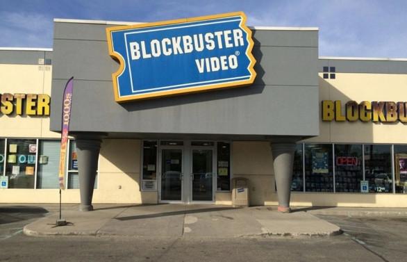 Blockbuster'ın tek mağazası kaldı
