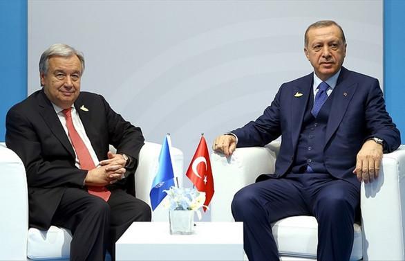 Erdoğan, BM Genel Sekreteri ile Hindistan-Pakistan gerilimini görüştü