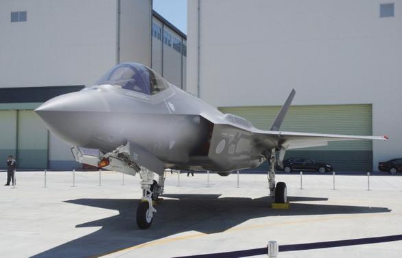 Düşen F-35'in enkaz parçaları bulundu